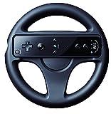 Volant Guidon Noir pour Nintendo Wii Jeu vidéo Mario Kart