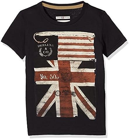 Deeluxe Vita, T-Shirt Garçon, Gris (Charcoal), FR: 10 Ans (Taille Fabricant: 10)