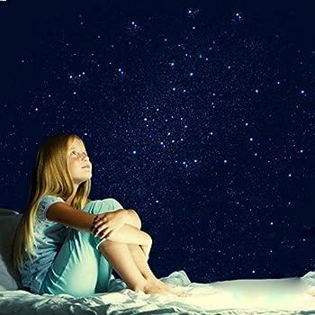 Plafond toil cr ez un ciel toil de plus de 10 m au plafond de votre chambre pose facile - Plafond chambre etoile ...
