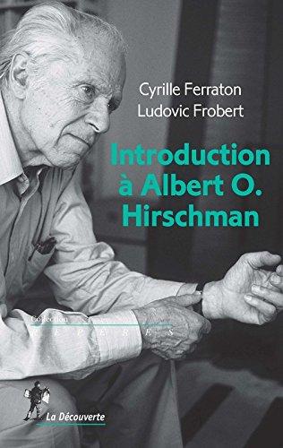 Introduction  Albert O. Hirschman