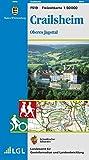 Crailsheim, Oberes Jagsttal: Karte des Schwäbischen Albvereins (Freizeitkarten 1:50000)