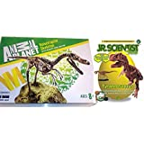 Velociraptor Skelett Bausatz 24 Teile von Animal Planet + GK008 Tyrannosaurus Rex