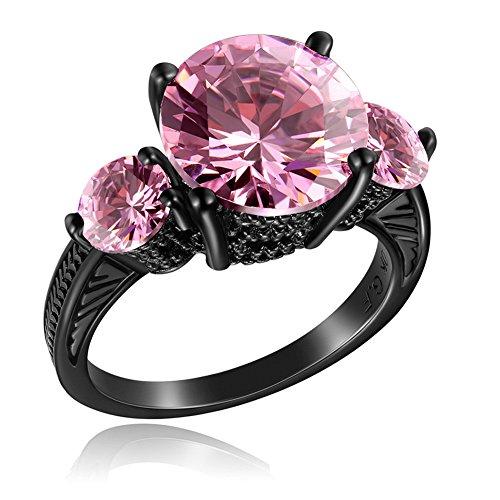 lixinsunbu-pink-sapphire-cz-unisex-adult-european-13kt-black-gold-plated-rings