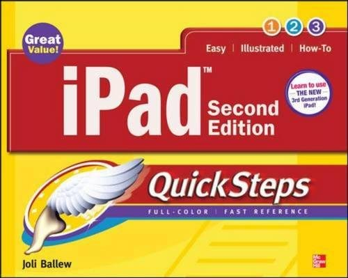 iPad Quicksteps, 2nd Edition: Covers 3rd Gen iPad