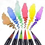 Z3Z Aquarellstift 20 Farben Aquarell Stift Comic Gemälde Farbe Hookline Stift Marker Malstift