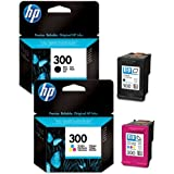 HP 300 2-pack Black/Tri-color Original Ink Cartridges