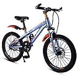 Bicicletas Infantiles y Accesorios Estudiante/niña Sola Velocidad niño/Silla de Paseo/Marco de Acero de Alto Carbono, 18 Pulgadas, Hermoso Regalo