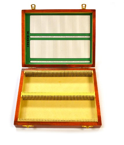 Eisco BI0001C Mikroskop-Box Labs, für 100-25 x 75 mm Dias