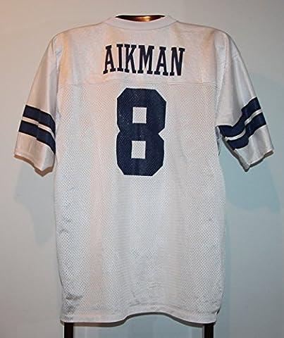 Maillot Trikot Foot Américain Nfl Us Troy Aikman Dallas Cowboys M