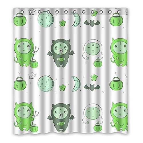 """167 centimetri x183 cm (66 """"x72"""") Curtain Bagno Doccia, universale di alta qualità del fumetto personalizzato Background Design poliestere impermeabile Tessuto della tenda doccia"""