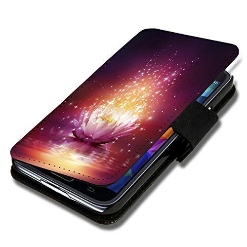 Book Style Flip Handy Tasche Case Schutz Hülle Schale Motiv Etui für Samsung Galaxy S5 Neo - Flip A42 Design2