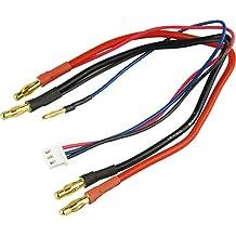Ladekabel LiPo 4mm Goldkontakt Hardcase 2mm Balancerstecker EH für 2S 7,4V