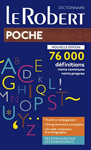 Dictionnaire Le Robert de poche 2019 par Collectif