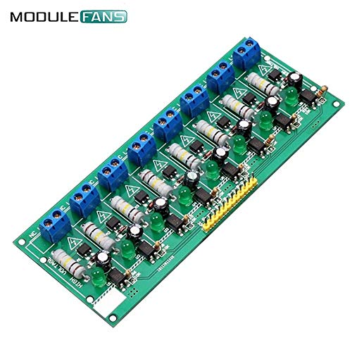 AC 220V 8 Kanal MCU TTL Level 8 ch Optocoupler Isolation Test Board isolierte Detektions Tester PLC Prozessoren Modul