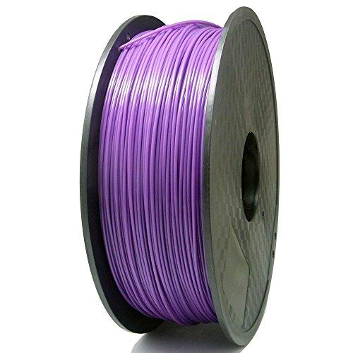 SIENOC 1 Packung 3D Drucker PLA 1.75mm Printer Filament - Mit Spule 1kg (Violett)