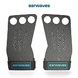 Earwaves  Carbon Spino Grips - Crossfit Handschuhe für Damen & Herren. Hand Grips für...
