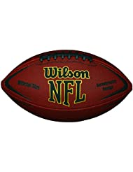 Wilson NFL Force Official - Balón de fútbol americano, color marrón, talla única