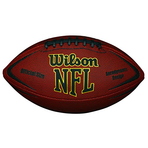 Wilson Nfl Force Official Pallone da Football Americano, Marrone, Taglia Unica