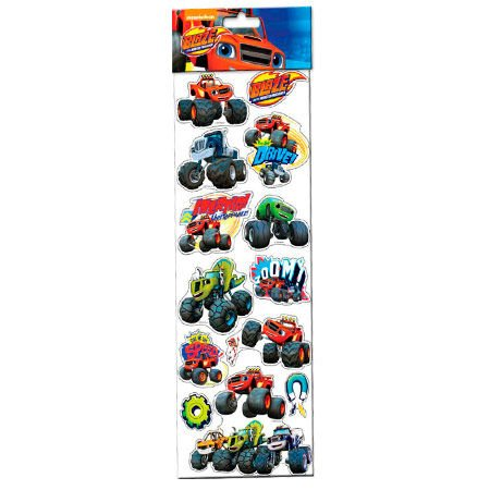 Stickers Blaze and The Monster Machine removibles gigantes