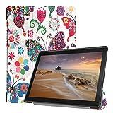 Hunpta@ Für Lenovo Tab E10 32 GB TB-X104F Tablet 10,1 Zoll Slim Stand Leder Hülle (E)