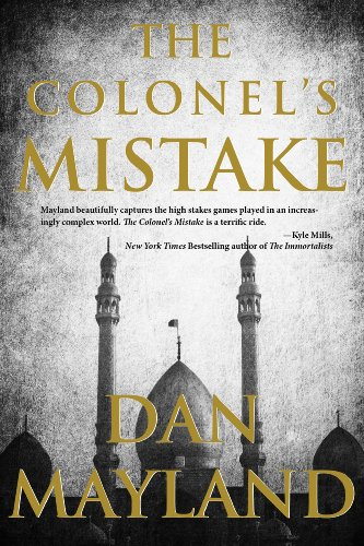 The Colonel's Mistake (A Mark Sava Spy Novel Book 1)