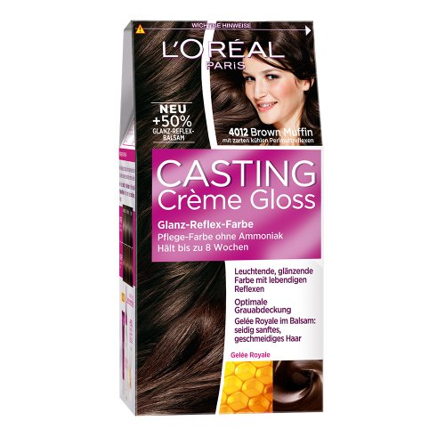 L'Oréal Paris Casting Crème Gloss Glanz-Reflex-Intensivtönung 4012 in Brown Muffin