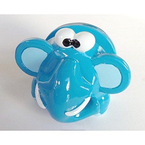 Porte lunettes - Support en forme d'éléphant bleu