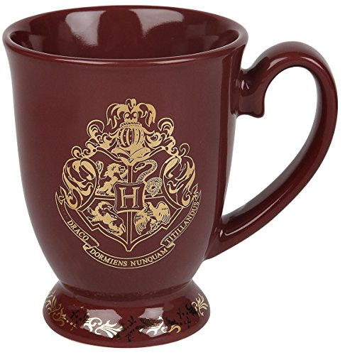 Harry Potter Hogwarts Tasse weinrot 1