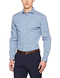 SELECTED HOMME Herren Businesshemd Shdtwosel-Air Shirt LS AOP Sts
