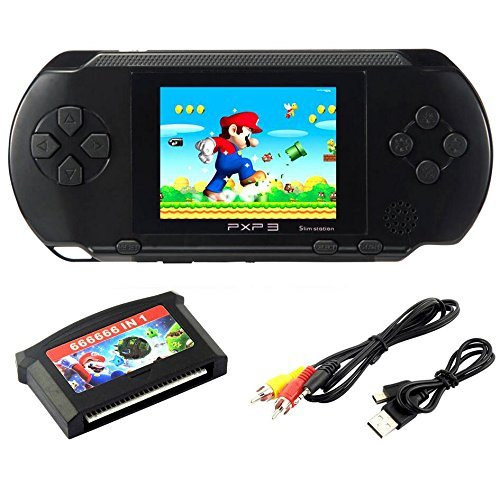 SZZHCKJ Console de jeu pour ordinateur portable LCD 2,7 'PXP...