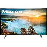'Medion Life x18064MD 31118138,8cm 55pouces Curved UHD 3D Smart TV, 4K Ultra HD, 3D, triple tuner HD DVB T2HD DVB-C DVB-S2, 2000CMP, WiFi, Bluetooth, CI +, DTS, HD, classe d'efficacité énergétique: A, noir