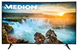 MEDION LIFE X18064 (MD 31118) 138,8cm (55) 3D Curved Ultra HD Smart-TV mit LED-Backlight Technologie (4K, 2.000 CMP, HD Triple Tuner, DVB-T2 HD, CI+, HDMI, USB), Netflix App Energieklasse A, schwarz
