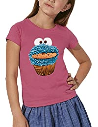 Pixel Evolution T-Shirt 3D Cookie Monster In Augmented Reality Child