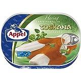 Appel Heringsfilets, zarte Fisch-Filets in Toskana-Sauce, MSC zertifiziert, 200 g