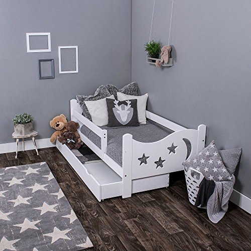 lll kinderbett mit rausfallschutz ratgeber modell bersicht. Black Bedroom Furniture Sets. Home Design Ideas