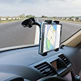 Die Hard™, Car Tablet Mount Holder, Windshield / Dashboard Universal Car Tablet Mobile Phone / Device Cradle For IOS / Android Tablet, IPad, Smartphone Tab Holder For 7 To 10 Inch Kindle / IPad / Tablets (Black)
