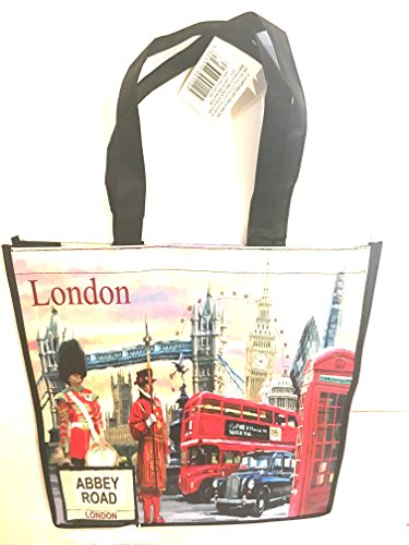IMPRIMÉ SOUVENIR DE LONDRES X RE SHOPPING/SAC BANDOULIÈRE
