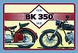 IFA BK 350 MZ motorrad moped scooter mofa schild aus blech, metal sign, deko schild