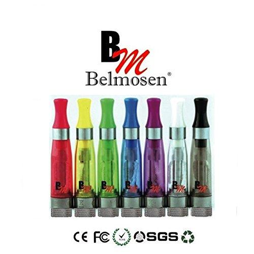 CE5 Verdampfer Atomizer für e Zigaretten mit Tanksystem und langem Docht in 7 Farben! (10 Verdampfer Sparpack, Bunter Farbmix) (Bunte E Zigarette)