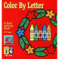 Color By Letter - Crayons by Poof Slinky