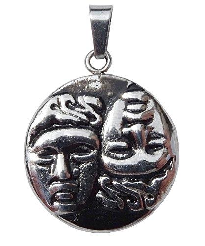 Anhänger Münze Griechische 'Castor und Pollux Symbol Zwillinge in der griechischen Mythologie und...