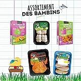 Royal Bernard - Assortiment Bambins - Colis de Volaille et de produits élaborés crus de Volaille Régionale - 7 Barquettes - 5 produits différents...