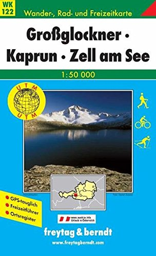 WK 122 Grossglockner, Kaprun, Zell am See 1 : 50000: Grossglockner, Kaprun, Zell Am See (Hiking Maps of the Austrian Alps)