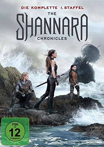 3 Min Maske (The Shannara Chronicles - Die komplette 1. Staffel [3 DVDs])