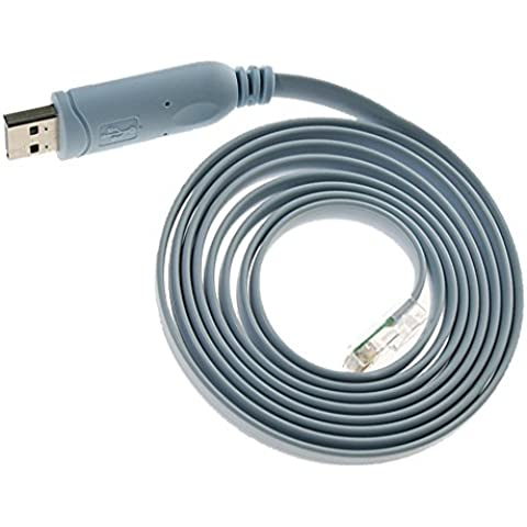 goldentrading USB RJ45cavo console Cisco FTDI Windows 87Mac Linux RS2321,8m