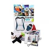 Girafus® Guardian Angel für 2 Kinder, Kinderfinder, Haustierfinder, Allesfinder mit Alarm, Weglauf/Diebstahlschutz mit Radius-Alarm