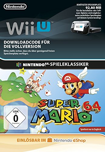 Super Mario 64 [Wii U Download Code] (Nintendo 64 Super Mario Spiel)