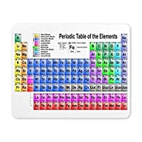 """BGLKCS Periodic Table of The Elements Gaming Mouse Pad Oblong Shaped Mouse Mat 9.84"""" x 7.87"""""""