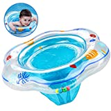 PLOEP Baby Swimming Ring Float Seat, Inflatable Baby Pool Swim Ring Skin-Care PVC