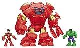 Marvel Playskool Heroes Super Hero Abenteuer stark Tech Armour mit Tony Stark Figur, mehrfarbig